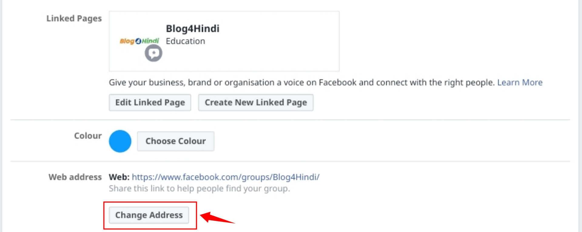 Set Custom Facebook Group username