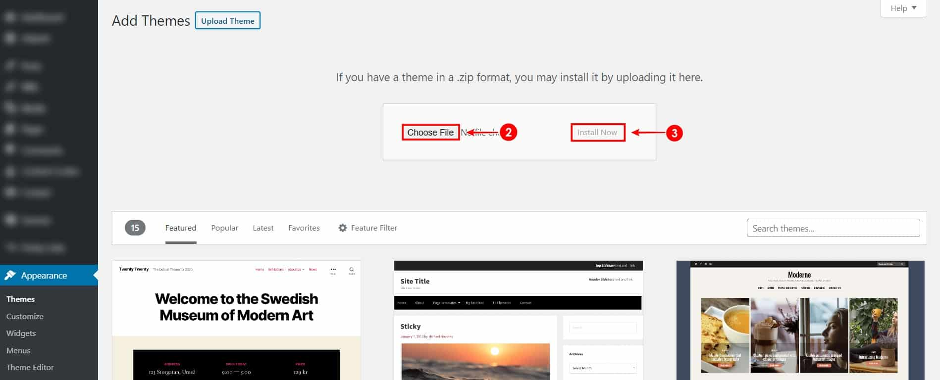 WordPress Theme Upload Kaise Kare