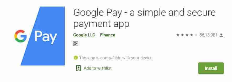 Gpay Best Upi Payment App