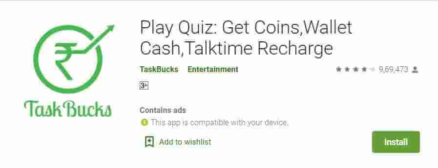 taskbucks app