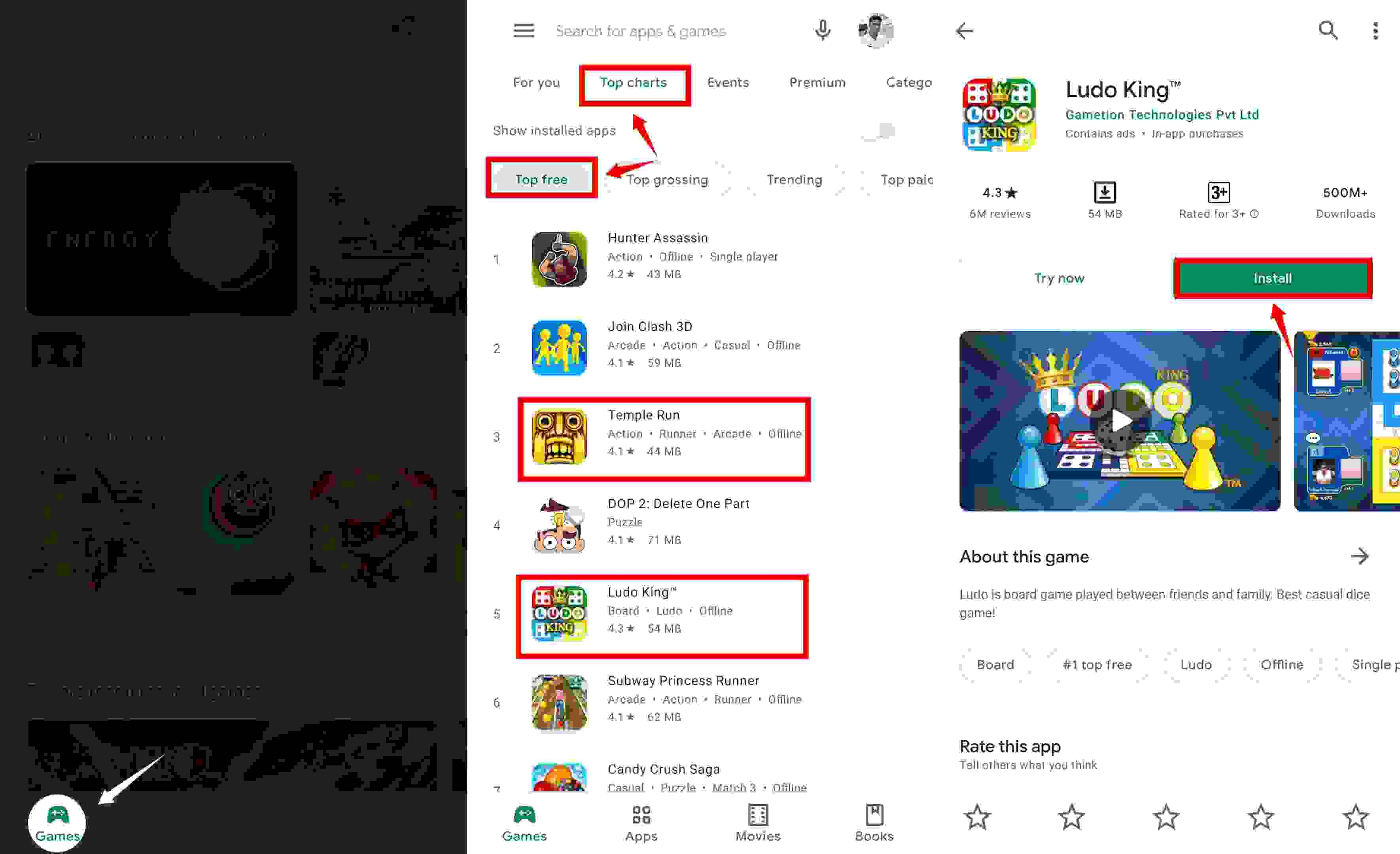 play store game download