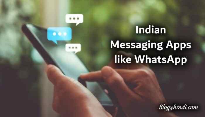 indian messaging app