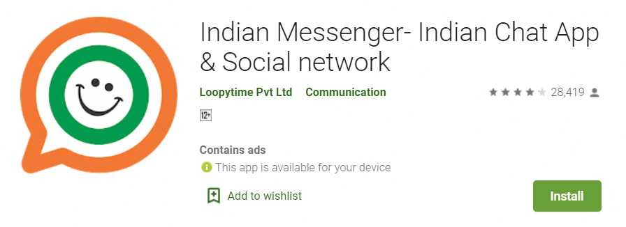 Indian Messaging Apps