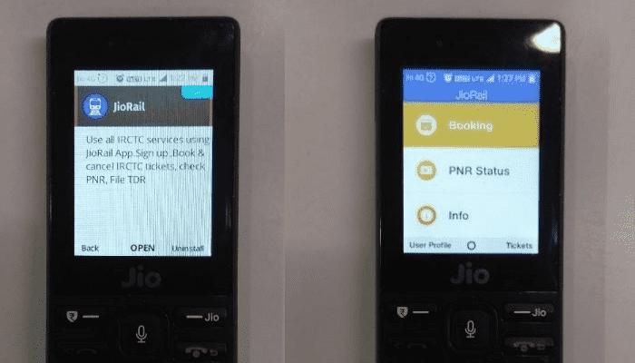 jio rail app install